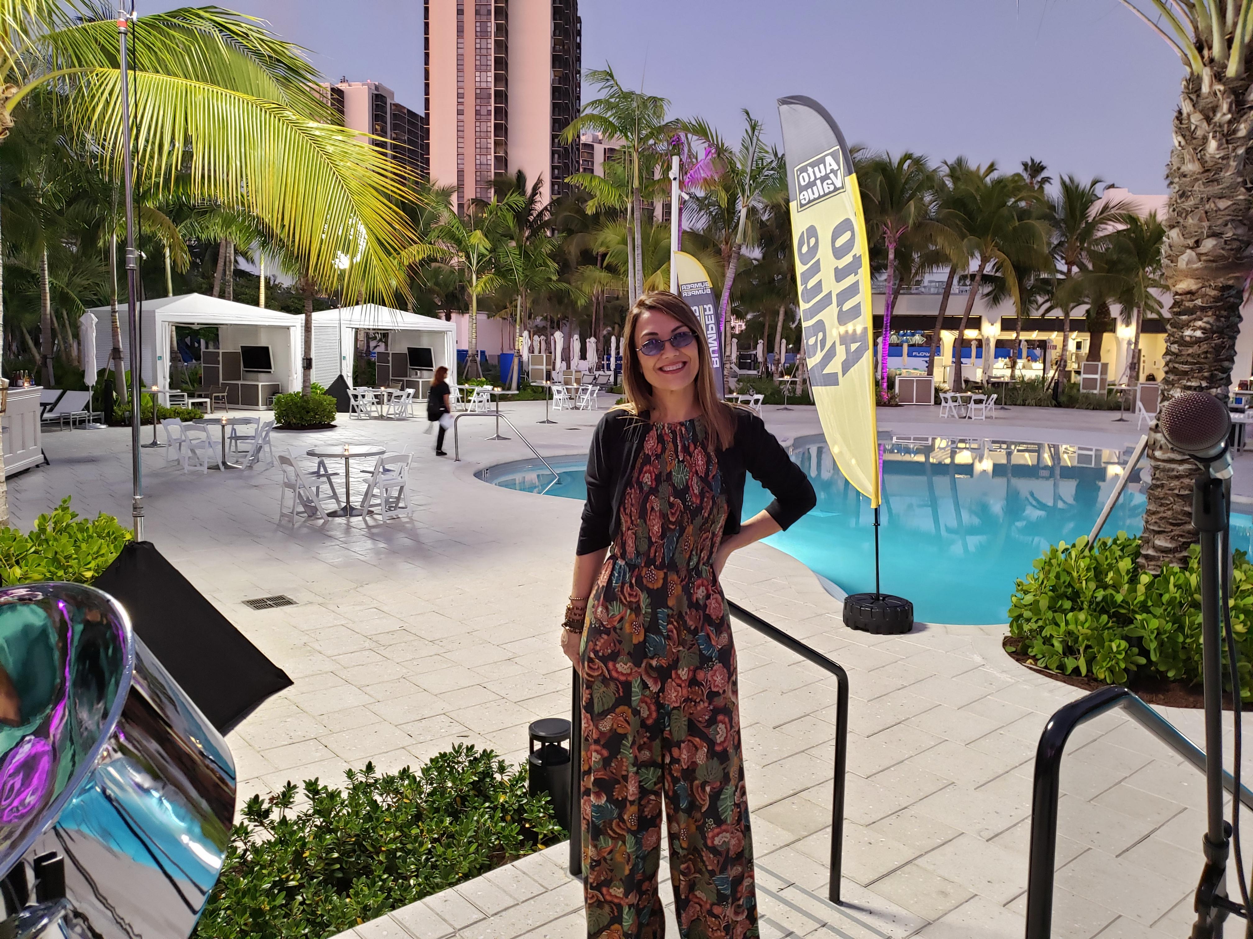 Lilian Viana at Turnberry Isle Resort & Club