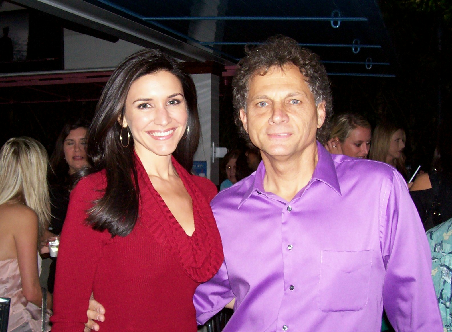 2011 with Lissette Gonzalez (Ch 4 weather girl)