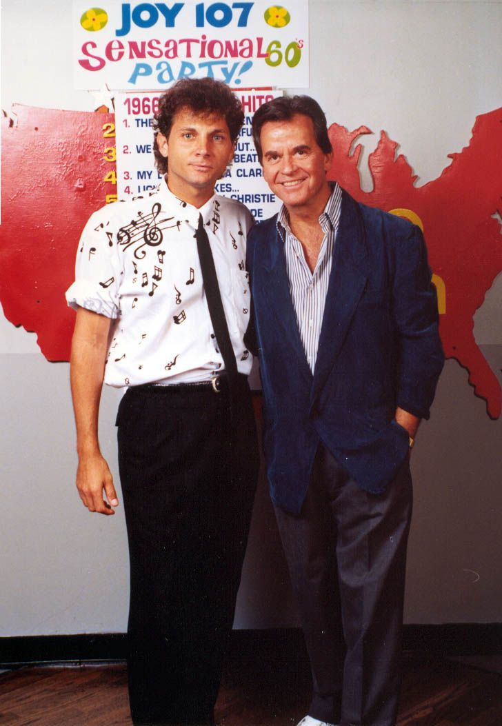 Jimmy and Dick Clark